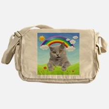 Rainbow Kitty Messenger Bag