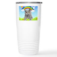 Rainbow Kitty Travel Mug