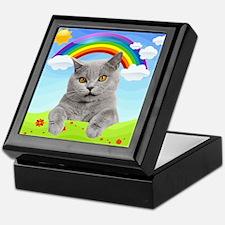 Rainbow Kitty Keepsake Box