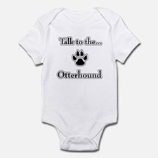 Otterhound Talk Infant Bodysuit