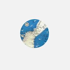 GUAM MAP Mini Button
