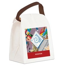 drinking glass Canvas Lunch Bag