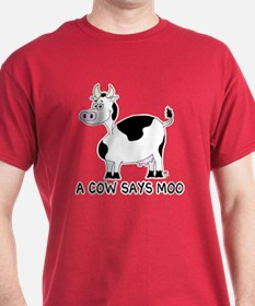 A Cow Says Moo T-Shirt