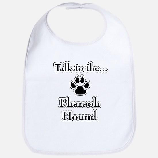 Pharaoh Hound Talk Bib