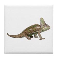 Chameleon Photo Tile Coaster