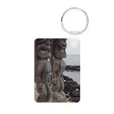 Place of Refuge Tikis Keychains