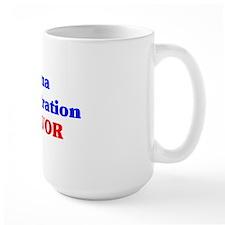 Survivor button Mug