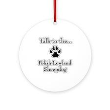 Lowland Talk Ornament (Round)