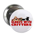 Sleeps With Critters Button
