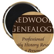 Redwood Genealogy Magnet