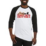 Sleeps With Critters Baseball Jersey