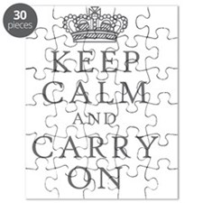 Keep Clam And Carry On Puzzle
