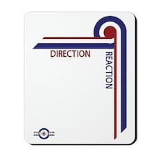 Direction Reaction designer mod Scooter  Mousepad