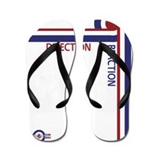 Direction Reaction designer mod Scooter Flip Flops