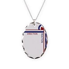 Direction Reaction designer mo Necklace