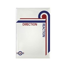 Direction Reaction designer mod S Rectangle Magnet