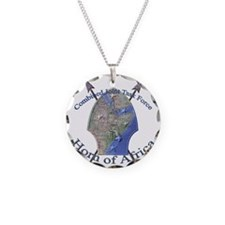 CJTF-HOA logo Necklace Circle Charm