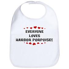 Loves: Harbor Porpoises Bib