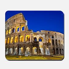 Rome - Colosseum At Dusk Mousepad