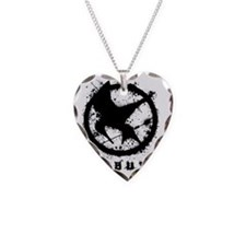 Hunger Games 1 Black (Splatte Necklace