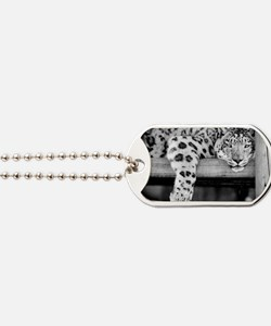Snow Leopard Dog Tags