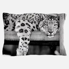 Snow Leopard Pillow Case