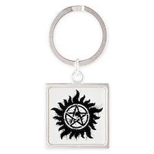 Anti-Possession Symbol Black (Spla Square Keychain