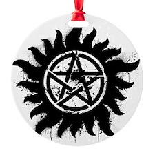 Anti-Possession Symbol Black (Splat Ornament