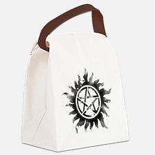 Anti-Possession Symbol Black (Glo Canvas Lunch Bag