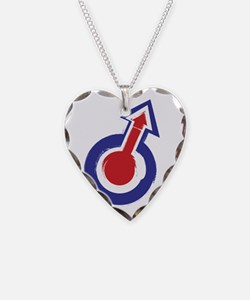 painted style mod target and  Necklace