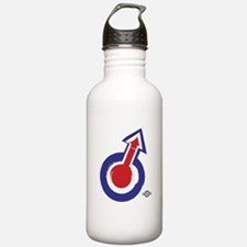 painted style mod targ Water Bottle