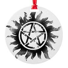 Anti-Possession Symbol Black (Glow) Ornament