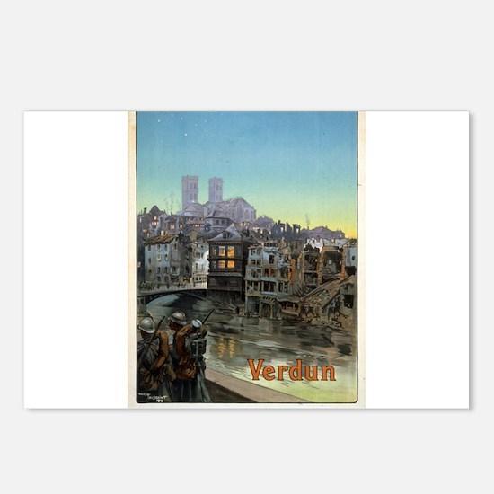 Verdun - Maurice Toussaint - 1919 - poster Postcar