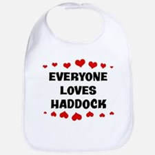 Loves: Haddock Bib