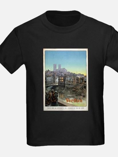 Verdun - Maurice Toussaint - 1919 - poster T-Shirt