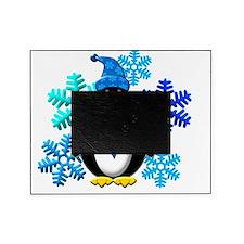 Penguin Snowflakes Winter Design Picture Frame