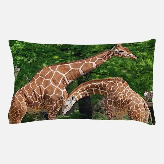 The giraffe Pillow Case
