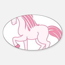 Pink Unicorn Decal