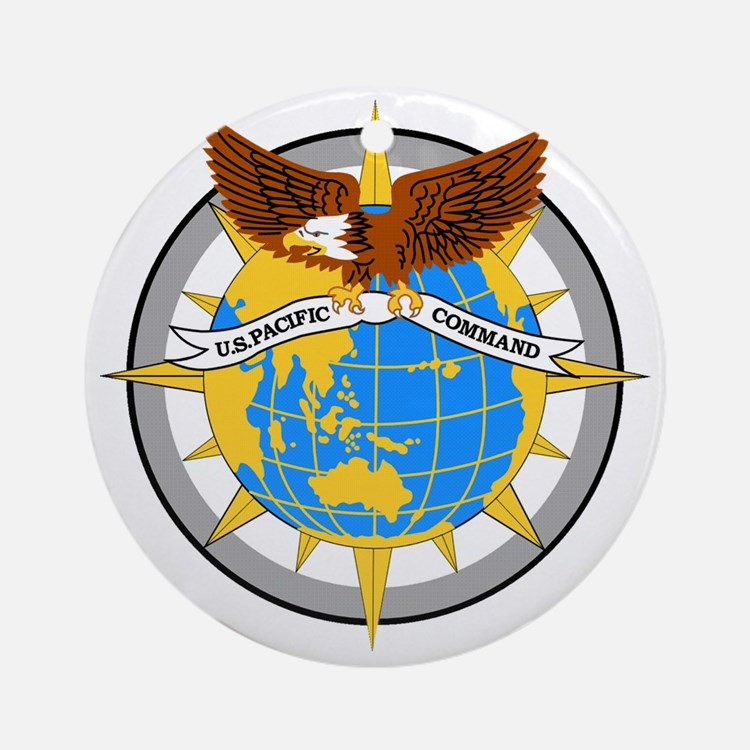 USPACOM emblem Round Ornament