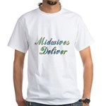 Deliver With This White T-Shirt