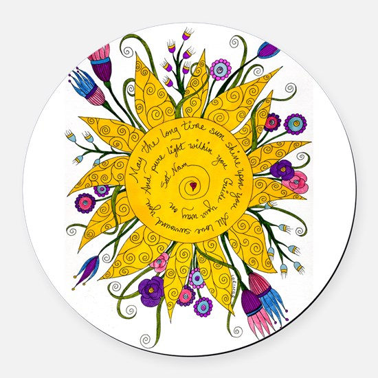 Yoga Car Magnets CafePress - Magnetic car decals flowers