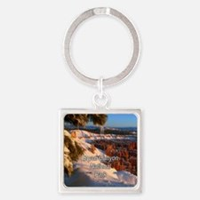 Bryce Canyon National Park Square Keychain