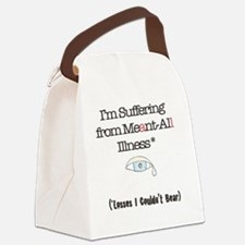 Meant all Canvas Lunch Bag