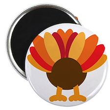 Turkey Face, Gobble Gobble Gobble Funny But Magnet