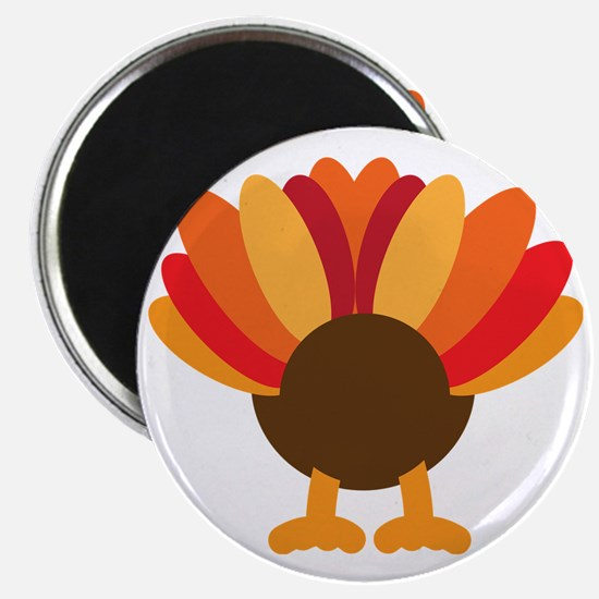 Turkey Face, Gobble Gobble Gobble Funny But Magnet