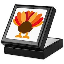Turkey Face, Gobble Gobble Gobble Fun Keepsake Box
