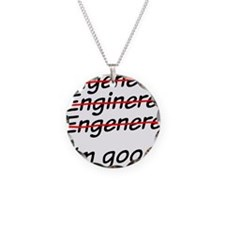 I am good with math Necklace