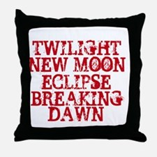 I Saw them first Movie Dates Throw Pillow