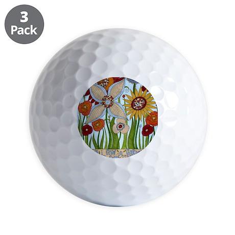 garden of compassion Golf Balls