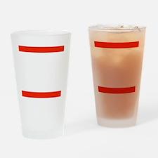 RUN TNT Drinking Glass